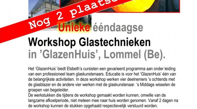 Glascursus in Lommel