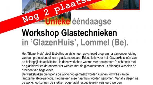 Workshop glass in Lommel