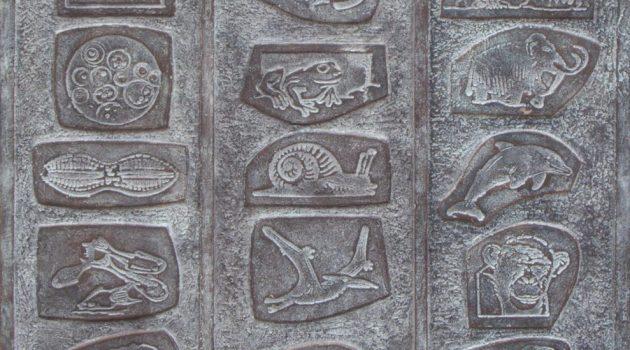 Bronzen Grafstèle